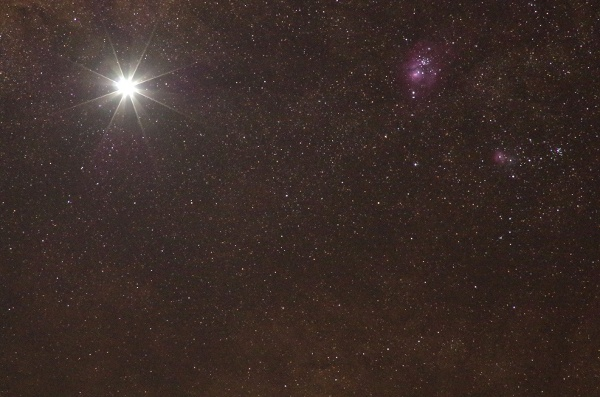 Venus Trifid and Lagoon nebulae